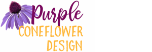 Purple Coneflower Design | Handcrafted Decor