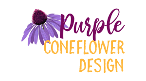 Purple Coneflower Design | Handcrafted Decor